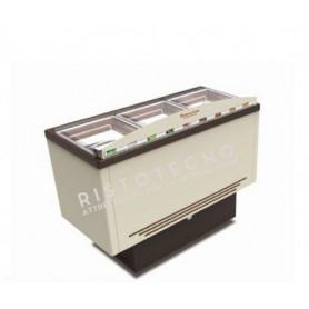 Vetrina refrigerata per Gelato - Temp. -5°/-20°C - Capacità 9 vaschette