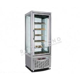 Espositore Vetrina refrigerata per pasticceria a 4 lati in vetro - Temp. -2°+4°C