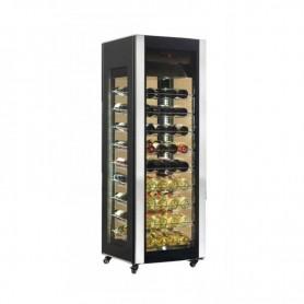 Frigo vetrina per Vino. Capacità 81 bottiglie - Dim.cm. 65,6x65,3x189,2H.