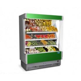 Espositore Murale refrigerato per Frutta e Verdura. Lunghezza cm. 158 - Temp. +6°/+8°C
