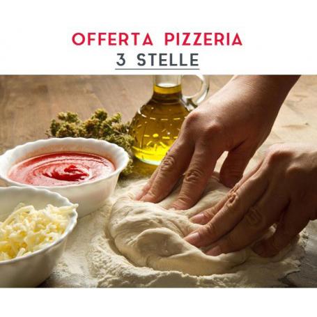 ATTREZZATURA APERTURA PIZZERIA - LINEA 3 STELLE € 3.350