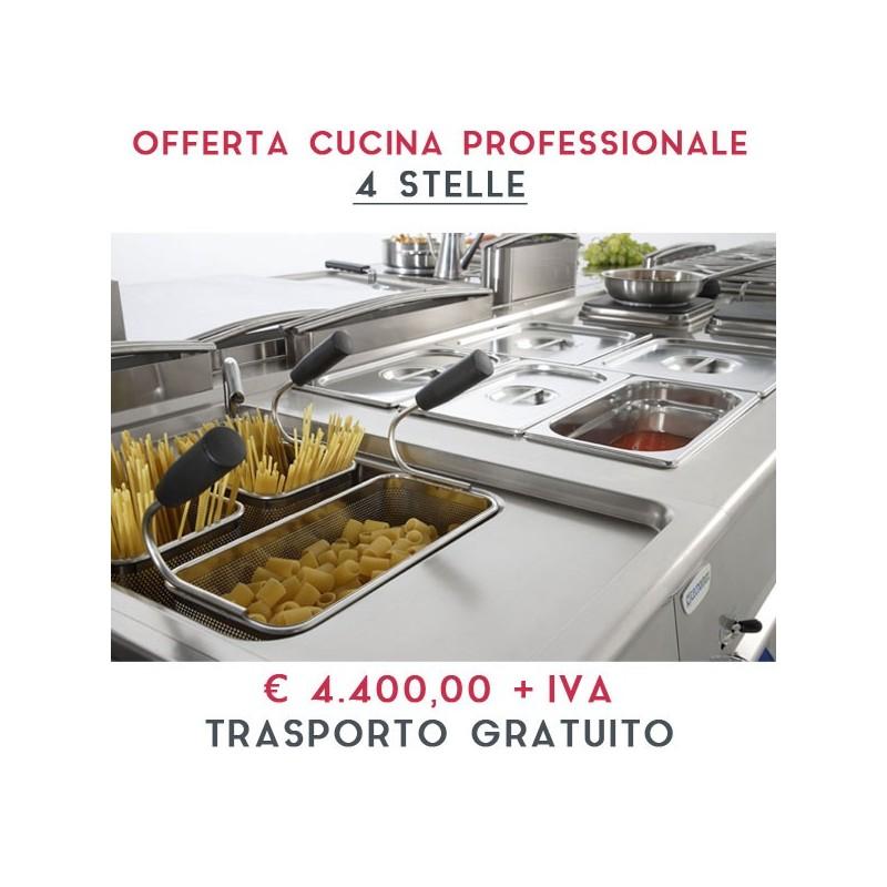 Attrezzatura Apertura Cucina Professionale Linea 4 Stelle 4 400