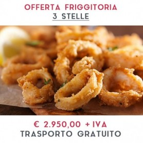 ATTREZZATURA APERTURA FRIGGITORIA - LINEA 3 STELLE € 2.950