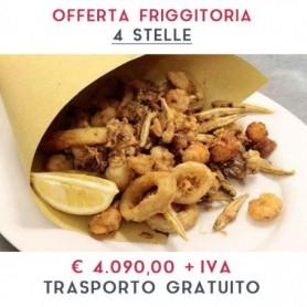 ATTREZZATURA APERTURA FRIGGITORIA - LINEA 4 STELLE € 4.090