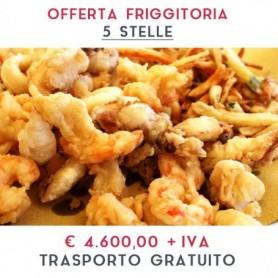 ATTREZZATURA APERTURA FRIGGITORIA - LINEA 5 STELLE € 4.600