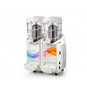 Erogatore doppio Granita - Sorbetto - Yogurt • Capacità lt. 5