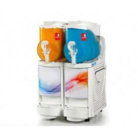 Erogatore doppio Granita - Sorbetto - Yogurt • Capacità lt. 6 x 2