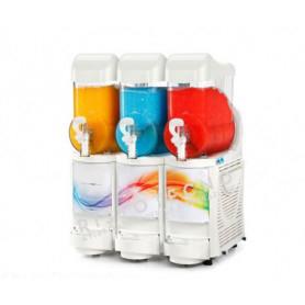Erogatore triplo Granita - Sorbetto - Yogurt • Capacità lt. 6 x 3