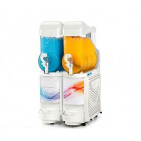 Erogatore doppio Granita - Sorbetto - Yogurt • Capacità lt. 10 x 2