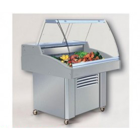 Vetrina espositiva refrigerata per PESCE - Lunghezza cm. 90