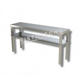 Ripiano d'appoggio per tavolo DOPPIO • H. cm. 70