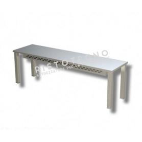 Ripiano d'appoggio per tavolo Singolo • H. cm. 40 • RISCALDATO