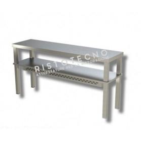Ripiano d'appoggio per tavolo DOPPIO • H. cm. 70 • RISCALDATO