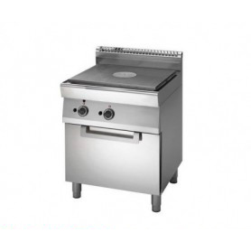 Cucina TUTTAPIASTRA a GAS + forno a GAS. Dim.cm. 70x70x85H. - Potenza termica 13