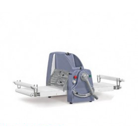 Sfogliatrice elettrica manuale da tavolo - Lunghezza tavoli 85x2