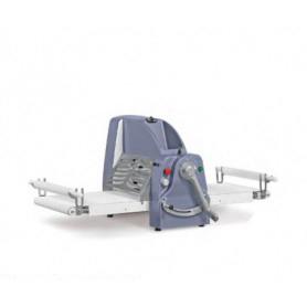 Sfogliatrice elettrica manuale da tavolo - Lunghezza tavoli 120x2
