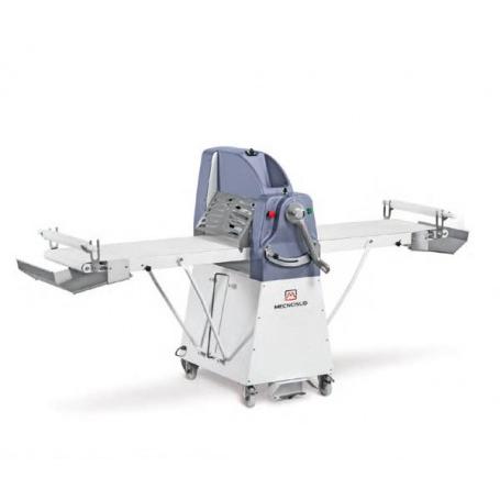 Sfogliatrice elettrica manuale da terra - Lunghezza tavoli 70x2