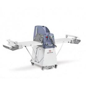 Sfogliatrice elettrica manuale da terra - Lunghezza tavoli 120x2