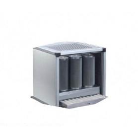 Gruppo di filtrazione ECO • PORTATA 3000 m³/h (carbone attivo)