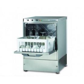 Lavabicchieri elettromeccanica cestello 35x35 - H. bicchiere 25 cm. - dosatore brillantante incorporato