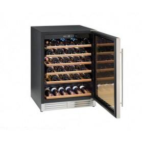 Frigo vetrina per Vino. Capacità 51 bottiglie - Dim.cm. 59