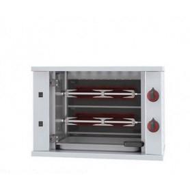 Girarrosto da banco elettrico. 2 Spade - capacità 6 polli • Assorbimento 3 Kw
