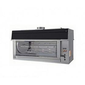 Girarrosto PLANETARIO elettrico • 10+5 aste • Capacità 105 polli • Potenza Assorbita 22.5 Kw.