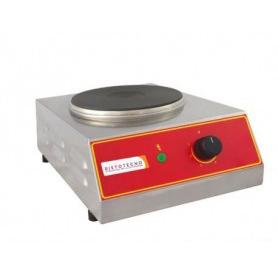 Piastra cottura Elettrica SINGOLA - 2.000 watt