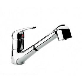 Miscelatore per lavello con doccia estraibile