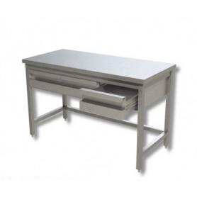 Tavolo inox senza ripiano di fondo