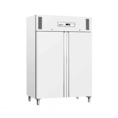Armadio Refrigerato 1200 Lt. Plastificato Bianco. +2°/+8°C • Dim.cm. 134x81x201H.