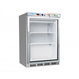 Armadio Refrigerato CONGELATORE • Porta in Vetro •130 Lt. • Refrigerazione statica. -18°/-22°C