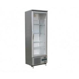 Armadio refrigerato - Frigo vetrina • porta in vetro • Lt. 307 - Dim.cm. 60x52x187