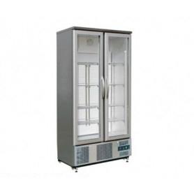 Armadio refrigerato - Frigo vetrina • porte in vetro • Lt. 490 - Dim.cm. 92x52x187