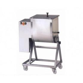 Impastatrice bipala per carne - Capacità 50 Kg.