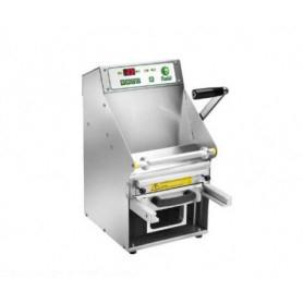 Termosigillatrice automatica per vaschette - Larghezza film 20 cm.