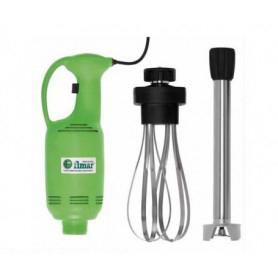 Mixer ad immersione 400 watt + mescolatore 40 cm. + frusta - Velocità Variabile
