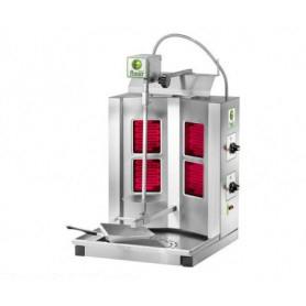 Gyros da banco elettrico - Capacità 10 Kg. - 2.8 Kw