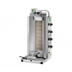 Gyros da banco a gas - Capacità 65 Kg. - 8 bruciatori