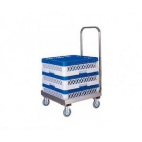 Carrello Porta Cestello • per cestelli 50x50