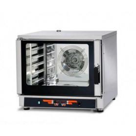 Forno Elettrico Professionale a Convenzione + Vapore - Comandi DIGITALI - 5 Teglie cm. GN 1/1 e 60x40