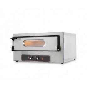 Forno Pizza elettrico 1 camera. Capacità 2 pizze Ø 30 cm. - Kw. 3.2 - Porta in Vetro