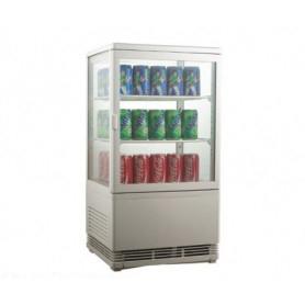 Espositore refrigerato da banco per Bibite. Lt. 58 - Dim.cm. 42