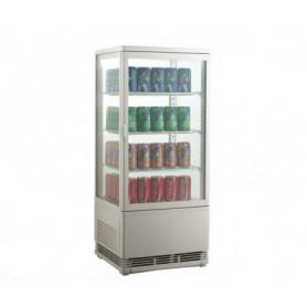 Espositore refrigerato da banco per Bibite. Lt. 78 - Dim.cm. 42