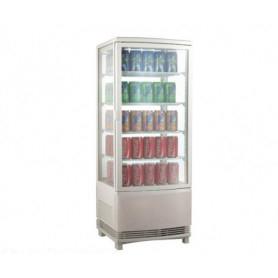 Espositore refrigerato da banco per Bibite. Lt. 98 - Dim.cm. 42