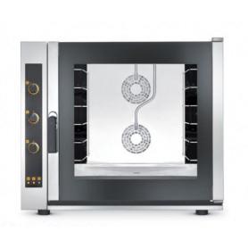 Forno elettrico ventilato a convezione + vapore. 6 teglie 60x40 - Dim.cm. 93