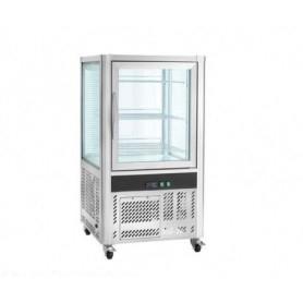 Espositore refrigerato pasticceria 268 litri - temp. +2°+8°C