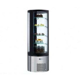 Espositore refrigerato pasticceria 400 litri - temp. +2°+8°C