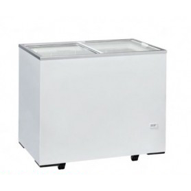 Congelatore a pozzetto. Capacità 261 lt. Temp. -13°/-23°C. - Porta in vetro