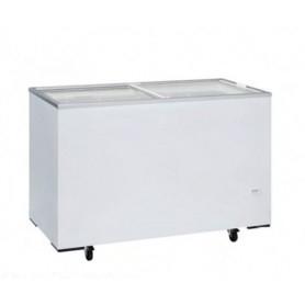 Congelatore a pozzetto. Capacità 355 lt. Temp. -13°/-23°C. - Porta in vetro